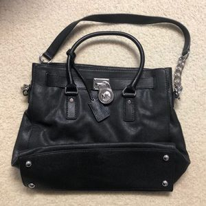 Michael Kors black tote with dust bag